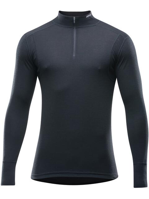 Devold M's Hiking Half Zip Neck Shirt Black